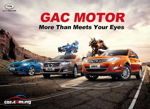 Car com ng GAC Motors