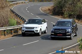 Mercedes-Benz GL vs Range Rover