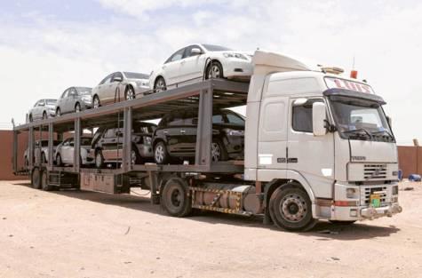 Car Smuggling At Idiroko