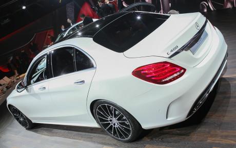 2015 Mercedes-Benz C-Class AMG C63