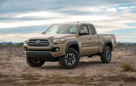 Unveiling The 2016 Toyota Tecoma…