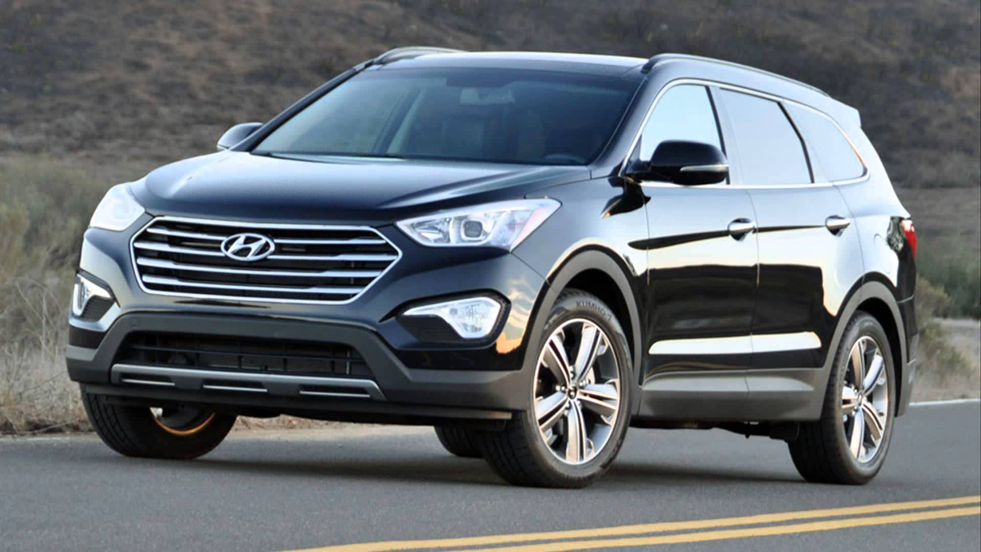 hyundai unleashes large suv for 2015. Black Bedroom Furniture Sets. Home Design Ideas