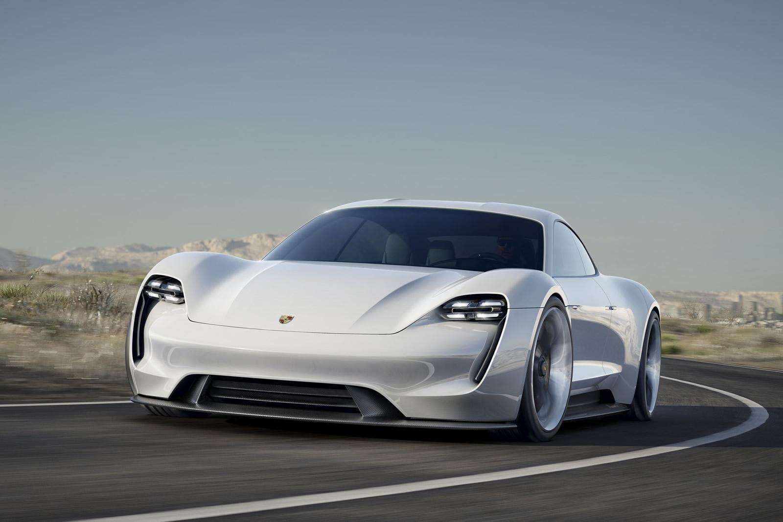 Porsche Reveals Its Electric Concept With Mission E