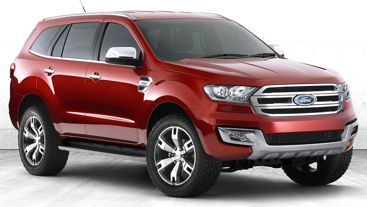 The All-new Ford Everest 2016