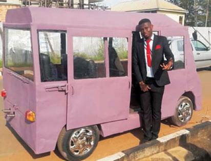 UNIZIK Students Produce Mini Bus
