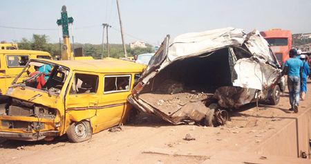 Five Killed in Multiple Road Crashes