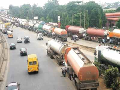 Tanker Drivers, Marketers Down Tools Over Bad Roads