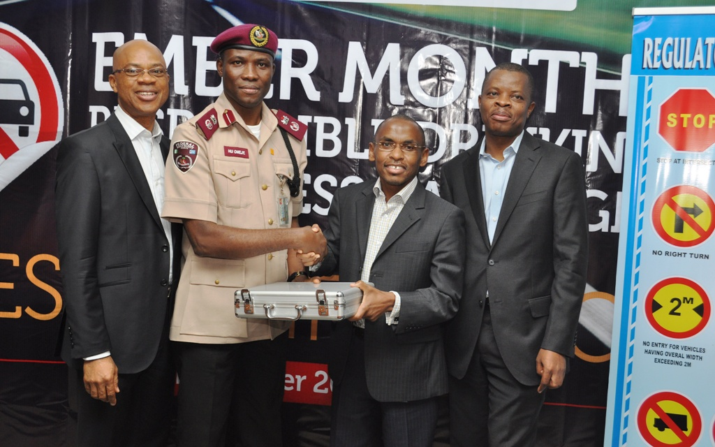 Guinness Donates Breathalyzers to FRSC