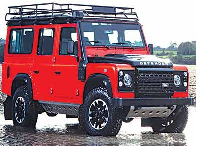 Jaguar Land Rover Rolls Last of Defenders off Production
