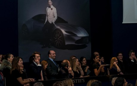 DB10 Auction a glimpse into the rarefied world of the wealthy