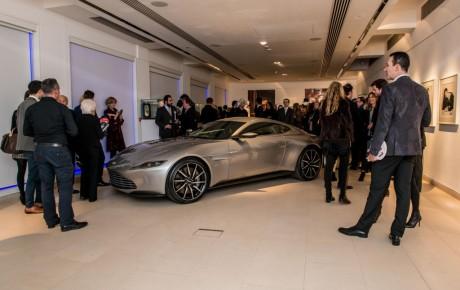 James Bond's Aston Martin Just Sold for $3.5 Million