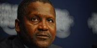 CAPE TOWNSOUTH AFRICA, 06MAY11 - Aliko Dangote, President and Chief Executive Officer, Dangote Group, Nigeria, during the African Fellowship Programe with Young Global Leaders announcement at the World Economic Forum on Africa 2011 held in Cape Town, South Africa, 4-6 May 2011.   Copyright (cc-by-sa) © World Economic Forum (www.weforum.org/Photo Matthew Jordaan matthew.jordaan@inl.co.za