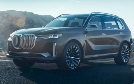 Generation BMW X7: M Package Version spotted Before November Show