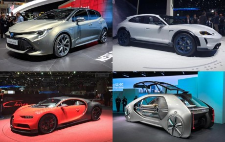 9 things we learned at the 2018 Geneva Motor Show