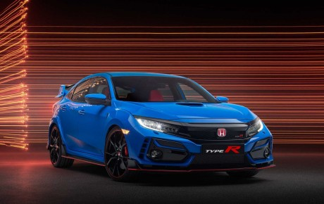 2021 Honda Civic Type R Limited Edition is lighter and more brilliant